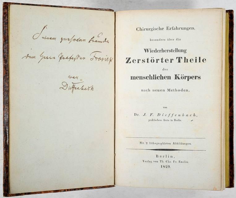 Dieffenbach, Johann Friedrich Chirurgische Erfahrungen besonders ...