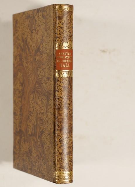 Gall, Franz Joseph: = (Adelon, Nicolas Philibert) Analyse d\'un cours ...