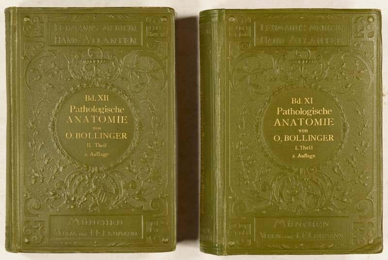 Bollinger, Otto v. Atlas und Grundriss der pathologischen Anatomie ...