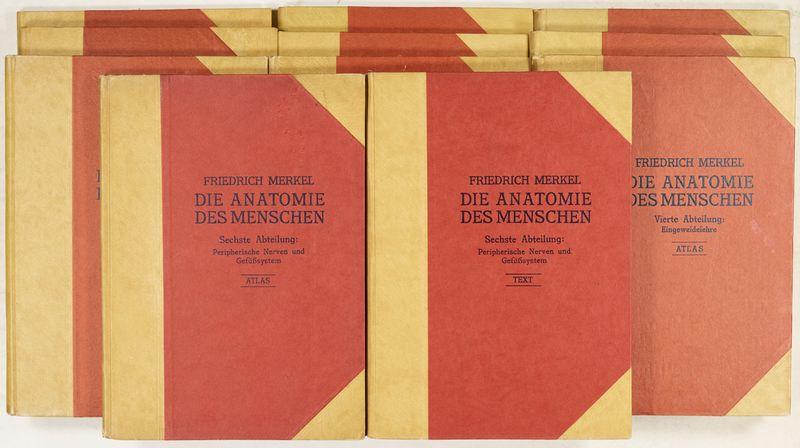 Merkel, Friedrich Sigmund Die Anatomie des Menschen. Mit Hinweisen ...